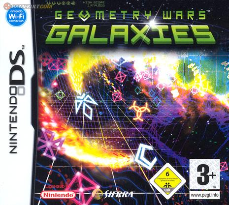 Jaquette du jeu vidéo geometry wars galaxy