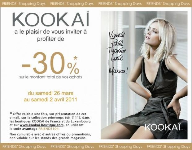 Kookai discount coupon