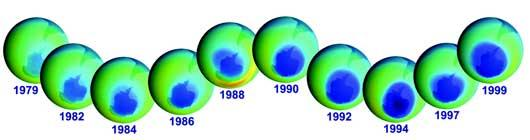 destrucion capa ozono: