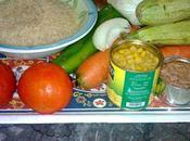 Salade panachée légumes printaniers