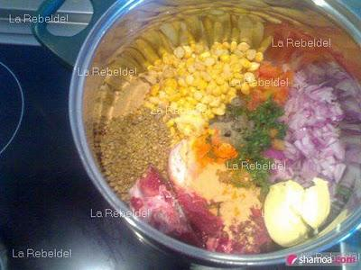 Lets go to kitchen .. (La Harira Marocaine) - Paperblog