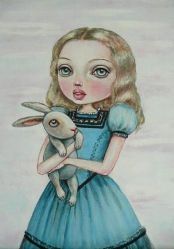lapin alice au pays des merveilles