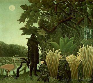 Jungle.DOUANIER ROUSSEAU