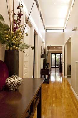 Petit couloir deviendra grand paperblog - Quelle couleur pour donner de la profondeur a une piece ...