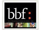 Parution Bulletin bibliothèques France, 2011