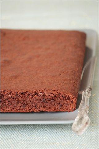 Gâteau chocolat au grué lactose & gluten free gp