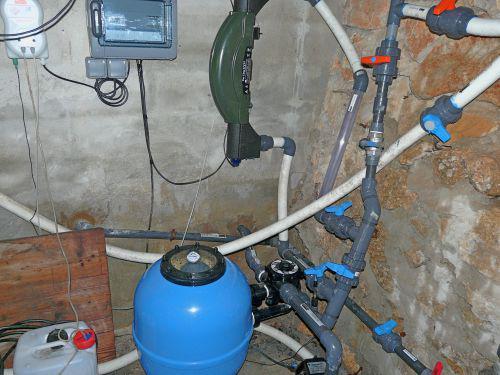 Piscine branchement capteurs solaire et remplissage auto for Branchement filtration piscine