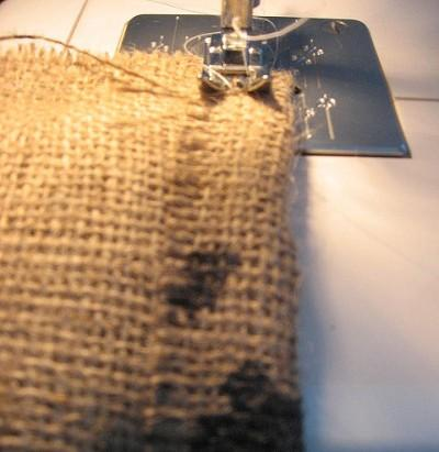 diy r cup sac en toile de jute et id es d co paperblog. Black Bedroom Furniture Sets. Home Design Ideas