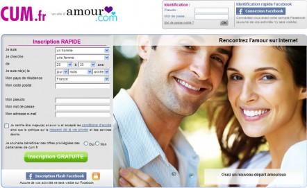 Cum.fr, le site des célibataires qui recherchent une relation sérieuse!