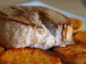 Tournedos canard patate douce poêlée