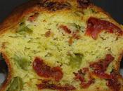 Cake asperges tomates séchées