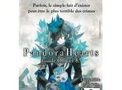 guide officiel Pandora Hearts catalogue Ki-oon
