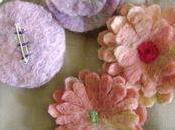 Fleurs feutrées