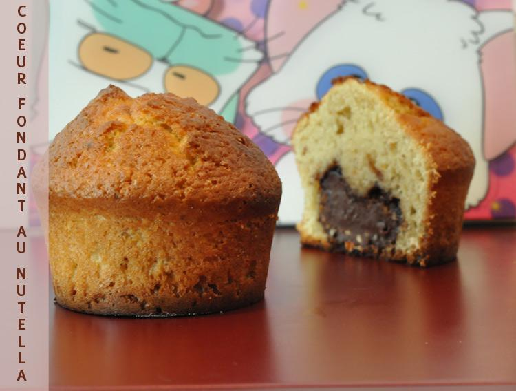 pin muffins au nutella recette de recettes biscuits et petits on pinterest. Black Bedroom Furniture Sets. Home Design Ideas