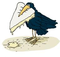 corbeau et son fromage
