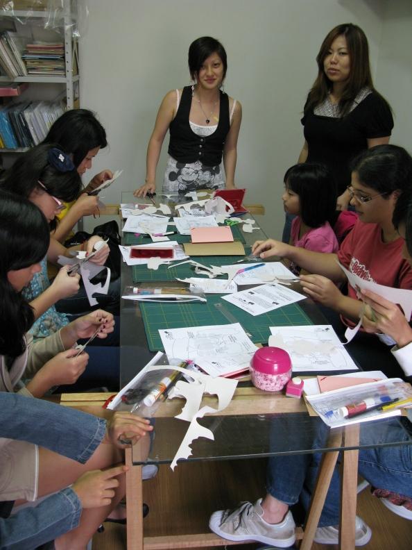 culture le kirigami l atelier de naomi uezu vient d ouvrir ses portes paperblog. Black Bedroom Furniture Sets. Home Design Ideas