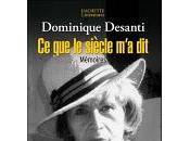 Décès Dominique Desanti, romancière, journaliste, biographe.