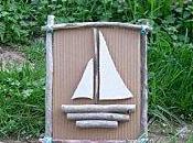 tableau poisson sauvage en carton dentelle et bois flott d couvrir. Black Bedroom Furniture Sets. Home Design Ideas