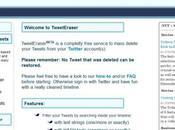 Effacer Facebook tous Tweets facilement! Fonction native malheureusement! Mais solutions!