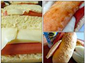 raclette, pain brioché maison