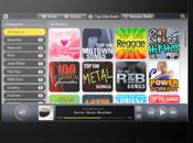 Musique vidéo dans Cloud pour tablette TouchPad