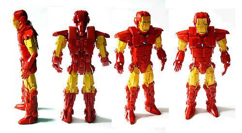 Iron man en lego paperblog for Iron man maison