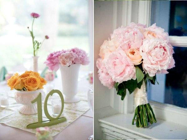 mariage vintage pastel rose pale et bleu marine blanc paperblog. Black Bedroom Furniture Sets. Home Design Ideas