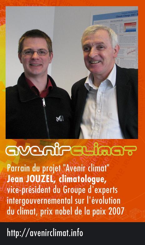 Jean Jouzel et Benka Avenir Climat