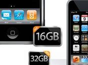 Doublage capacité stockage l'iPhone l'iPod Touch