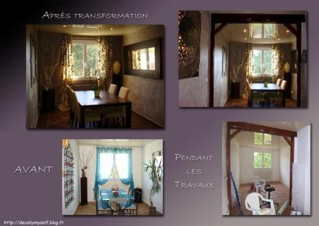 salon salle manger avant apres paperblog. Black Bedroom Furniture Sets. Home Design Ideas