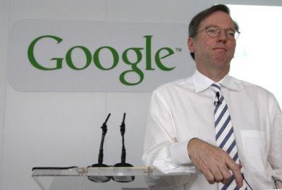 Le P-DG de Google, Eric Schmidt, google musique gratuite en ligne