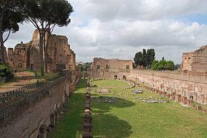Rome le stade de Domitien