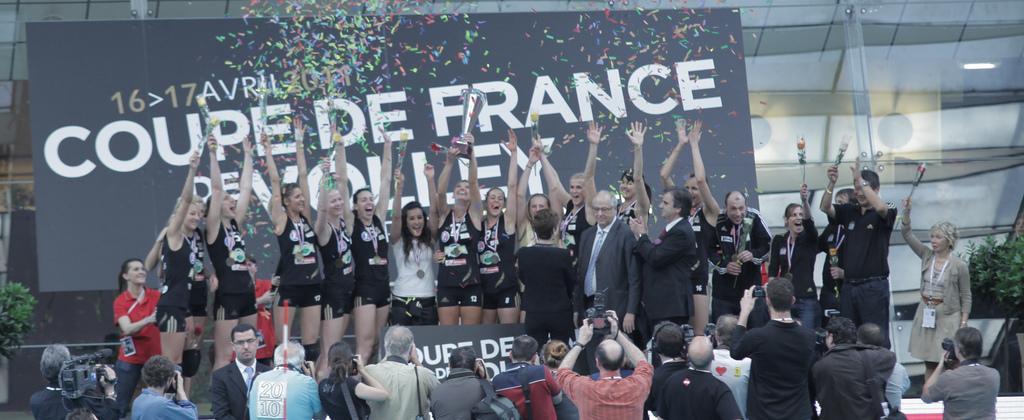 Finale de la coupe de france de volley f minin 2011 d couvrir - Coupe de france de volley ...