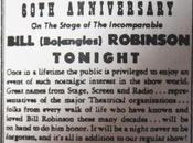 Lundi avril 1946 Venez Zanzibar célébrer Bojangles dans show business