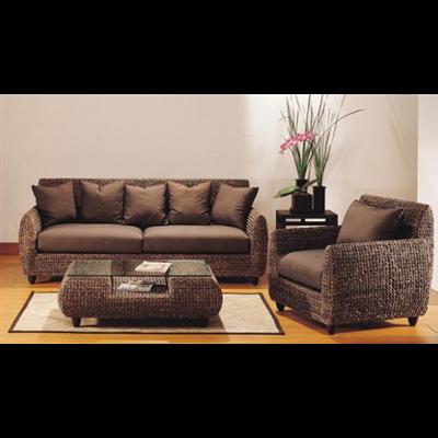 canap s en rotin ou canap s en jacinthe d eau un choix gagnant paperblog. Black Bedroom Furniture Sets. Home Design Ideas