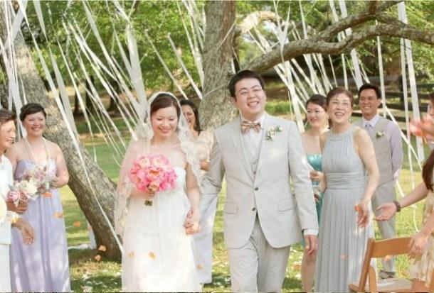 7 id es de deco de mariage avec du ruban paperblog for Decoration de noel exterieur avec ruban