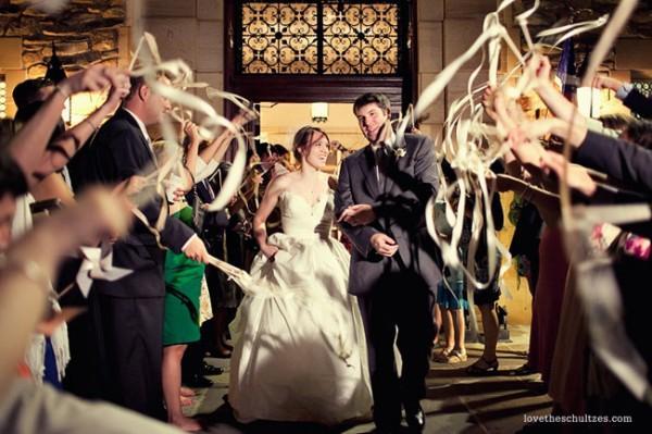 7 idées de deco de mariage avec du ruban