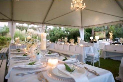 10 decorations de salle de mariage vertes d couvrir - Haut bonheur de la table cassel ...