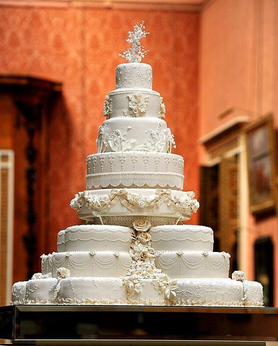 Photos le plus beau gateau de mariage du monde