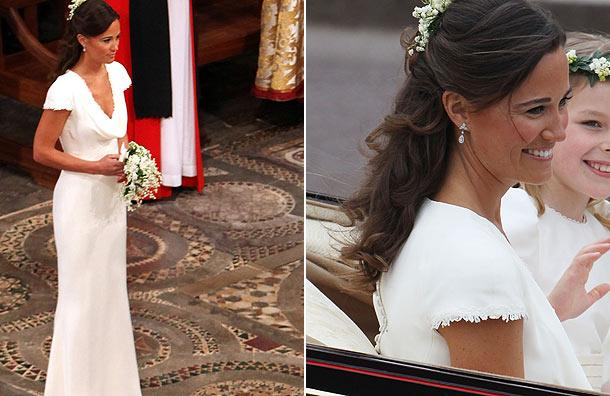 Les robes de Pippa Middleton, la demoiselle d\u0027honneur de Kate !