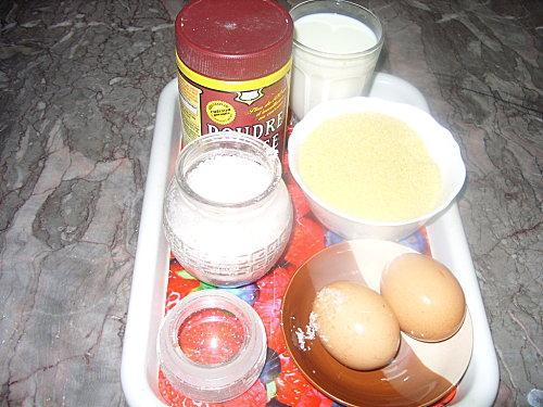 Croquettes à la semoule fine et fromage