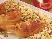 Cuisses poulet petits légumes