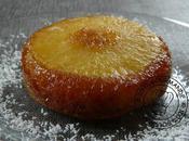 Gateau ananas caramel individuel renversant