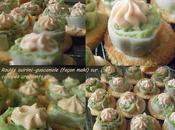 Roulés surimi guacamole canapés croquants