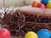 Macarons chocolat m&m's