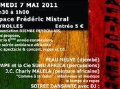 Africa Peyrolles stage danse soirée africaine