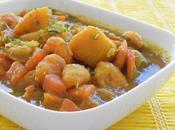 Colombo patates douces crevettes