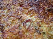 tarte becon courgettes estragon