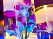 Decoration mariage bleue thème