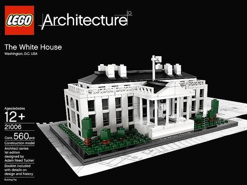 Lego et architecture quand le r ve devient r alit voir - Lego architecture maison blanche ...